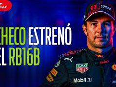 """""""Checo"""" y Max estrenan el Red Bull RB16B en Silverstone"""