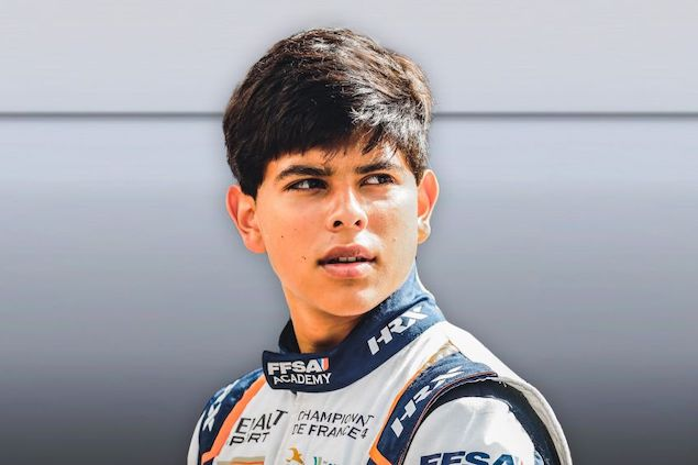 Rafael Villagómez (FOTO: FIA F3)