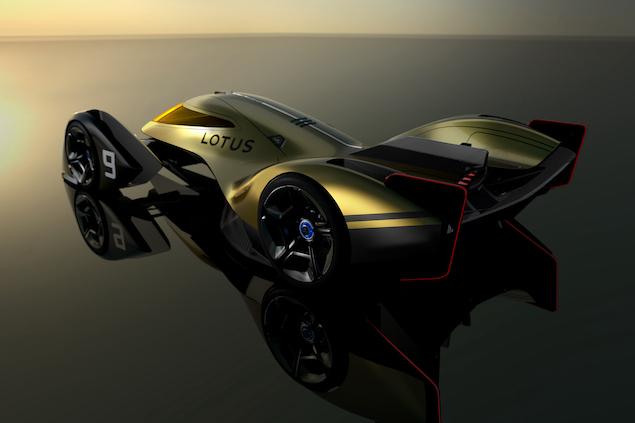 Lotus E-R9: El deportivo del futuro (FOTO: Lotus Cars)
