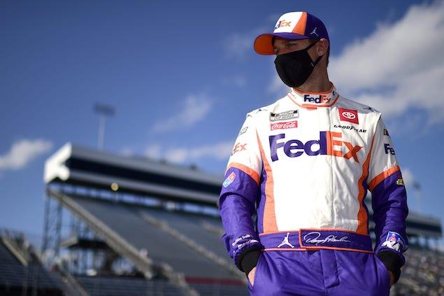 Denny Hamlin renueva con Joe Gibbs Racing (FOTO: NASCAR Media)