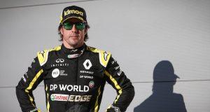 Alonso, operado por fractura de mandíbula (FOTO: Renault F1 Team)