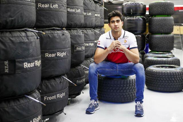 Juan Manuel Correa vuelve a las pistas (FOTO: Alfa Romeo Racing)