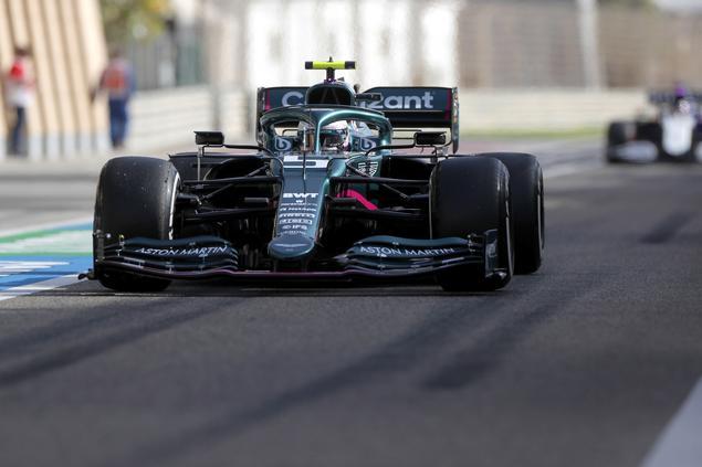 Sanción para Vettel; saldrá último en GP de Bahrein (FOTO: Aston Martin F1 Team)