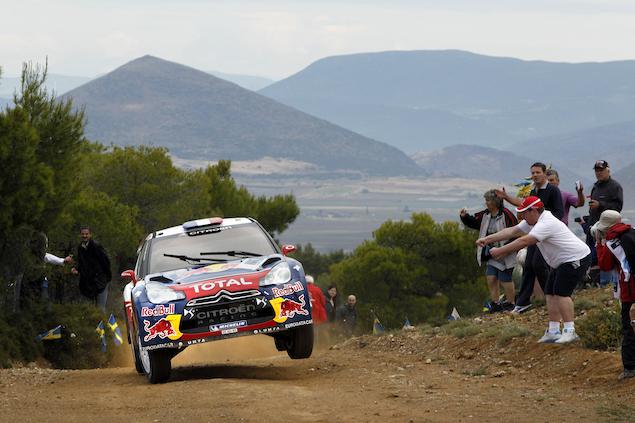 WRC: Rally Acrópolis en 2012 (FOTO: Red Bull Content Pool)