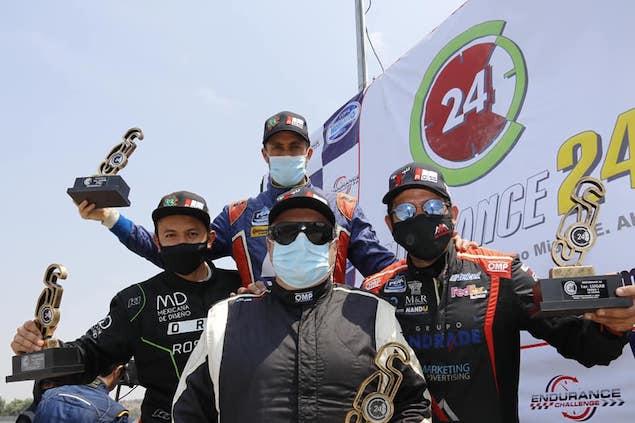 "OREA ROSS Racing gana ""24H de México"" (FOTO: Copa Notiauto)"