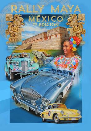 Cartel del Rally Maya México 2021