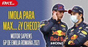 Motor Sapiens F1 Imola y Checo 2021