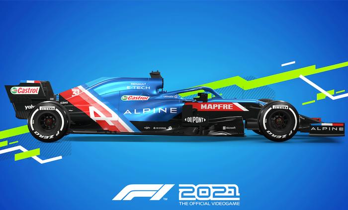 Videojuego F1 2021 saldrá el 16 de julio