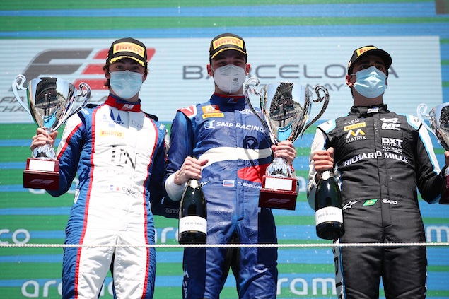 Smoylar ganó la Carrera 1 (FOTO: Joe Portlock/FIA Formula 3)