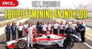 El equipo de mujeres que correrá la Indy 500 - FEM1