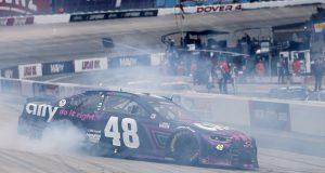 Suárez, noveno en Dover; equipo Hendrick logra 1-2-3-4 (FOTO: James Gilbert/NASCAR)