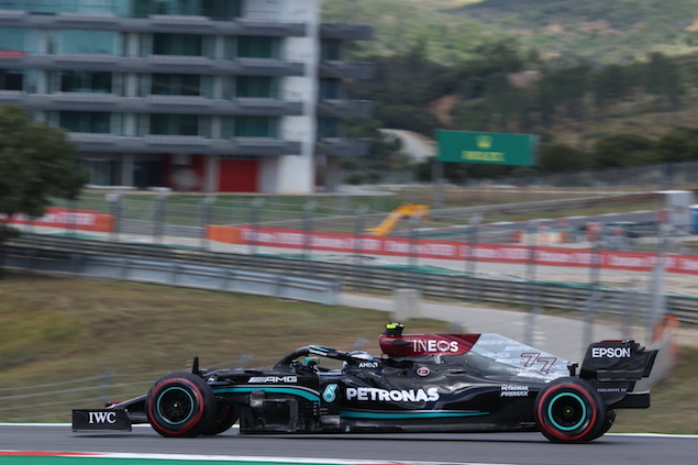 Valtteri Bottas gana PP del GP de Portugal (FOTO: Wolfgang Wilhelm/Mercedes AMG F1)