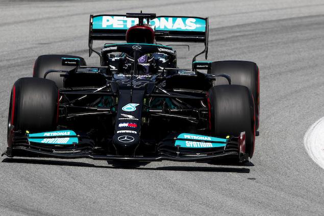 Lewis Hamilton logra 100º pole en Fórmula 1 (FOTO: Mercedes AMG F1)