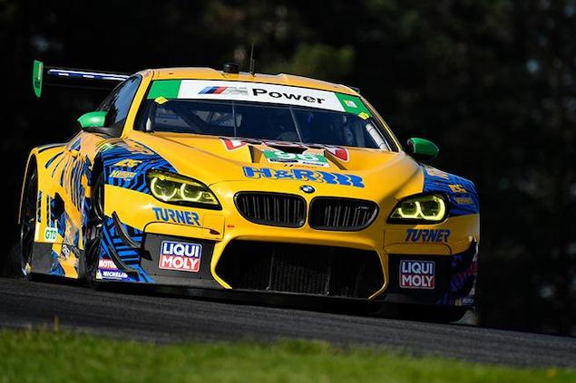 Robby Foley y Bill Auberlen, del No. 96 Turner Motorsport BMW M6 GT3 (FOTO: IMSA-SCC)