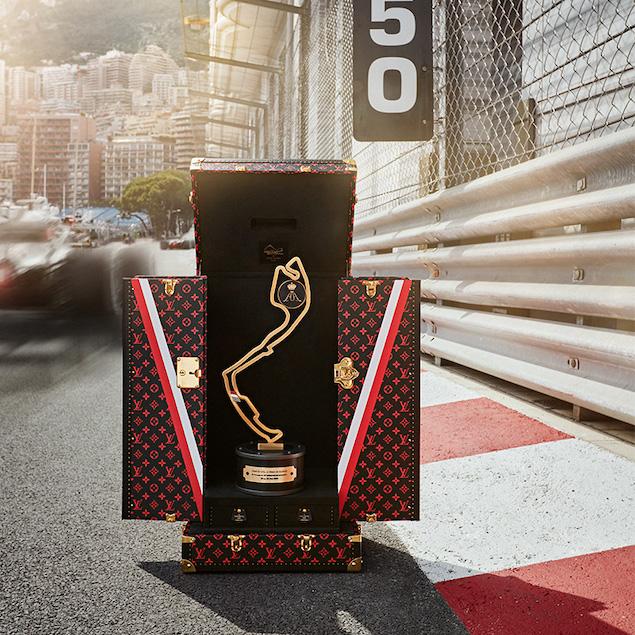 El trofeo de GP de Mónaco se guardará en Estuche Louis Vuitton (FOTO: ACM)