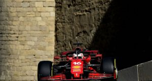Leclerc se queda con PP del GP de Azerbaiyán (FOTO: Scuderia Ferrari Press Office)