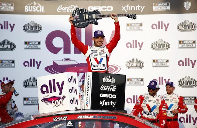 Suárez finaliza séptimo en Nashville; Larson domina (FOTO: Jared C. Tilton/NASCAR Media)