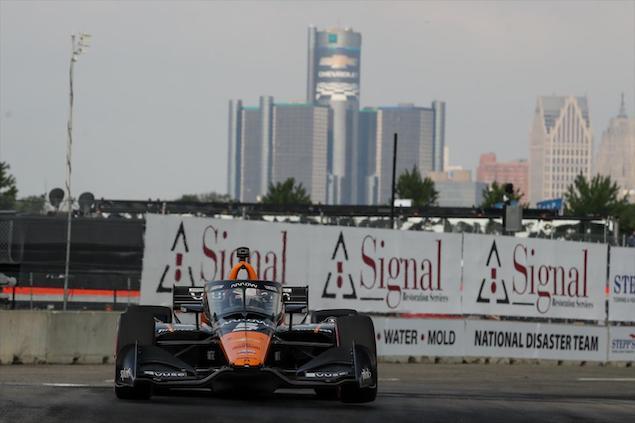 O'Ward gana en Detroit (FOTO: Joe Skibinski/INDYCAR)