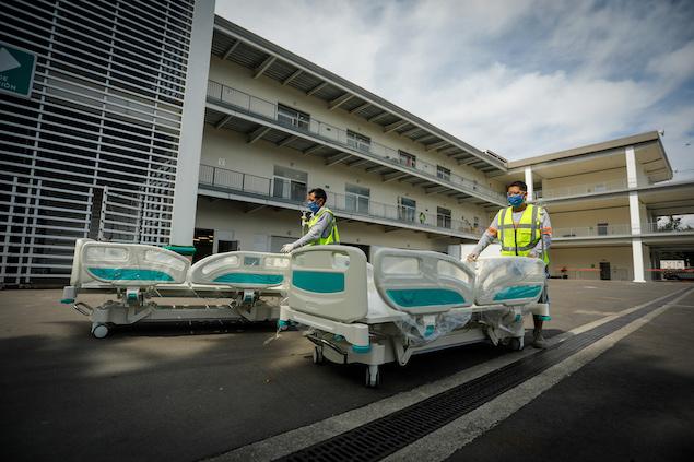 Hospital COVID en AHR dejará de operar el 15 de julio (FOTO: Mexico GP)