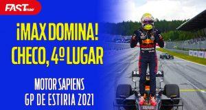 MAX domina, CHECO en 4º lugar en Estiria - MOTOR SAPIENS Ep. 38