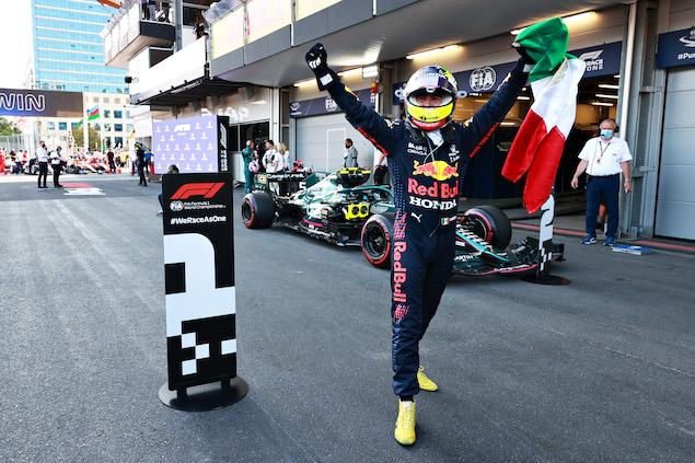 """Checo"" Pérez gana el Gran Premio de Azerbaiyán (FOTO: Mark Thompson/Red Bull Content Pool)"