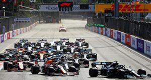GP BRIEFING: Hitos del GP de Azerbaiyán de F1 2021 (FOTO: Francois Nel/Red Bull Content Pool)