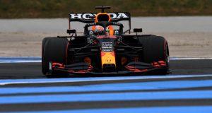 Max Verstappen, en PP del Gran Premio de Francia (FOTO: Rudy Carezzevoli/Red Bull Content Pool)