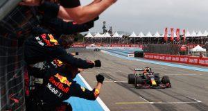 "Verstappen gana GP de Francia; podio de ""Checo"" Pérez (FOTO: Mark Thompson/Red Bull Content Pool)»"