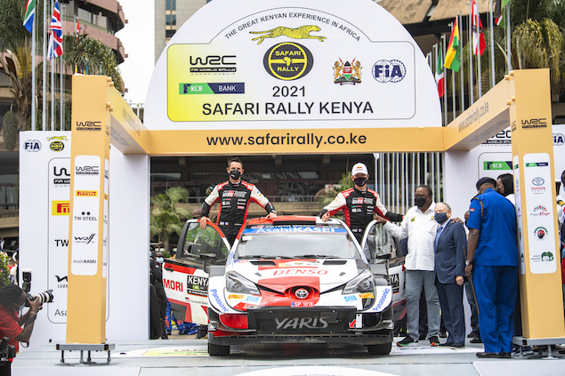 WRC: El Rally Safari arranca con Ogier como líder (FOTO: Jaanus Ree/Red Bull Content Pool)