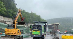Daños en Spa-Francorchamps tras inundación (FOTO: Spa-Francorchamps)
