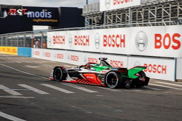 Lucas di Grassi (Audi Sport) durante la Carrera 1 del ePrix de Nueva York de Fórmula E (FOTO: Arturo Vega para FASTMag)