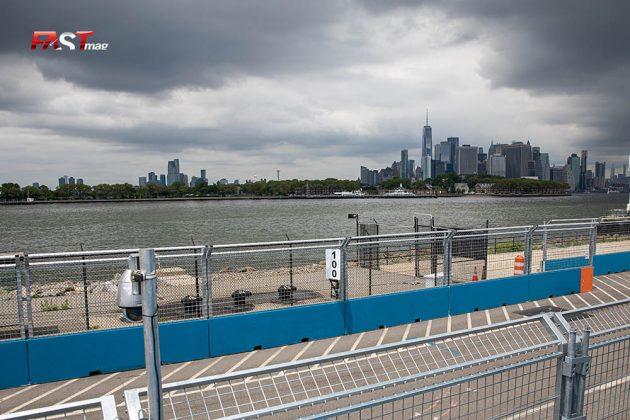 La postal de la ciudad de Manhattan, durante la actividad sabatina del ePrix de Nueva York (FOTO: Arturo Vega para FASTMag)