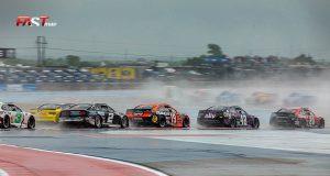 Acción del Echopark Texas Grand Prix, carrera de Copa NASCAR en Circuit of the Americas (FOTO: Arturo Vega)