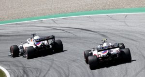 Mazepin y Schumacher (FOTO: Andy Hone/Haas F1 Team)