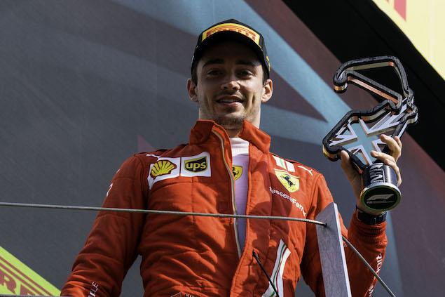 Leclerc, mitad feliz, mitad frustrado tras podio en Silverstone (FOTO: Scuderia Ferrari Press Office)