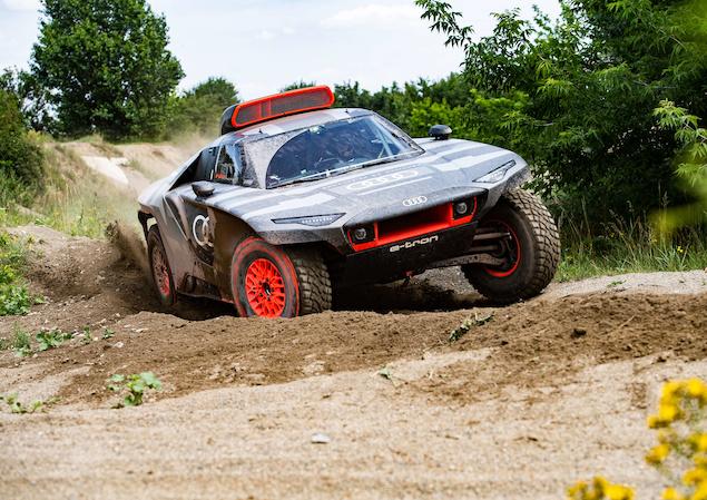 Audi revela RS Q e-tron que debutará en Dakar 2022 (FOTO: Audi Sport)