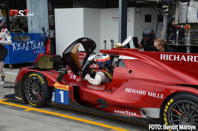 """El LMP2 Richard Mille Racing No. 1 de Tatiana Calderón y Sophia Floersch, durante las """"6H de Monza"""" (FOTO: Benoit Maroye para FASTMag)"""