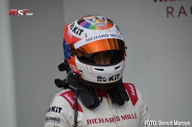 """Tatiana Calderón, del Richard Mille Racing No. 1 de la clase LMP2, durante las """"6H de Monza"""" (FOTO: Benoit Maroye para FASTMag)"""