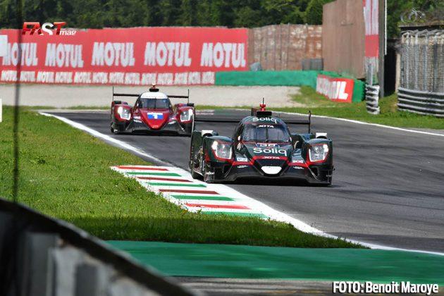 """El LMP2 JOTA Sport No. 38 de Roberto González, Antonio Félix da Costa y Anthony Davidson, durante las """"6H de Monza"""" (FOTO: Benoit Maroye para FASTMag)"""