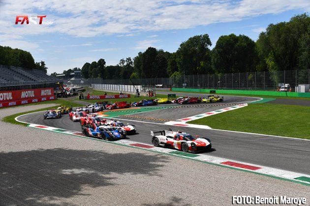 """El arranque de las """"6H de Monza"""" del FIA WEC (FOTO: Benoit Maroye para FASTMag)"""