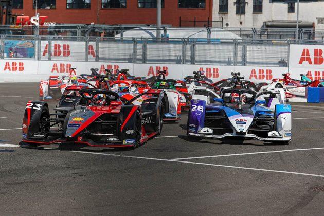 Arranque de la Carrera 1 del ePrix de Nueva York de Fórmula E (FOTO: Arturo Vega para FASTMag)