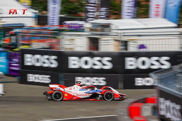 Alex Lynn (Mahindra Racing) durante la Carrera 1 del ePrix de Nueva York de Fórmula E (FOTO: Arturo Vega para FASTMag)