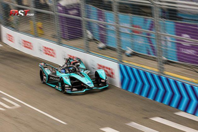 Sam Bird (Jaguar) durante la Carrera 2 del ePrix de Nueva York de Fórmula E (FOTO: Arturo Vega para FASTMag)