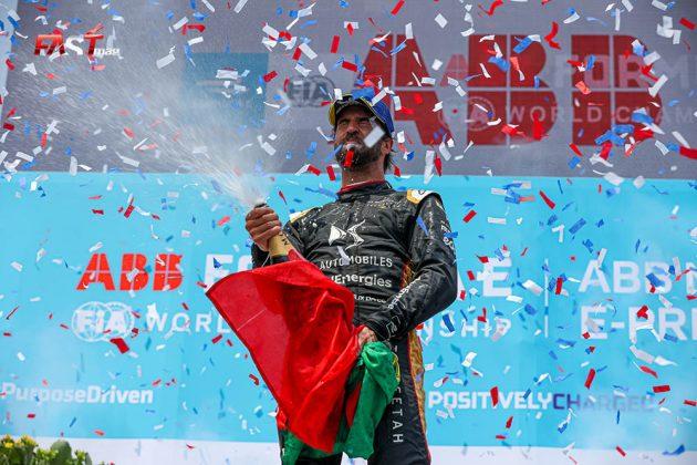 Antonio Félix da Costa (DS TECHEETAH), tercer lugar en la Carrera 2 del ePrix de Nueva York (FOTO: Arturo Vega para FASTMag)
