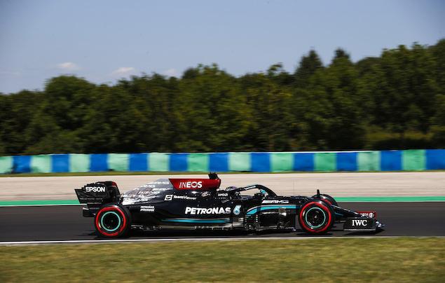 F1 Hungría: Hamilton lidera PL3 sobre Verstappen (FOTO: Jiri Krenek/Mercedes AMG F1)
