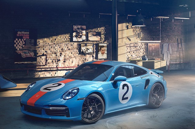 Porsche 911 Turbo S 'One of a Kind' Pedro Rodríguez (FOTO: Porsche)