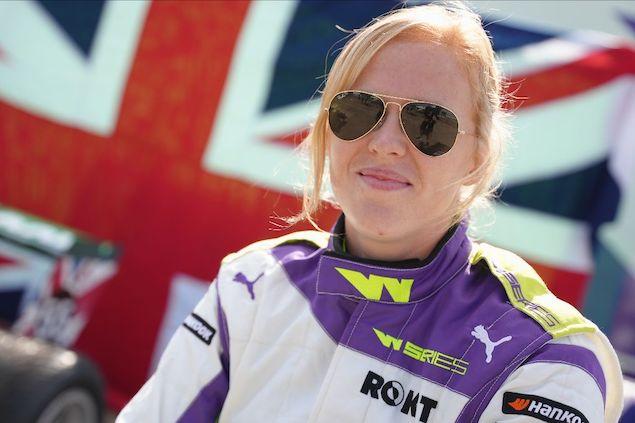 Powell, ganadora de Serie W en Silverstone (FOTO: Serie W)