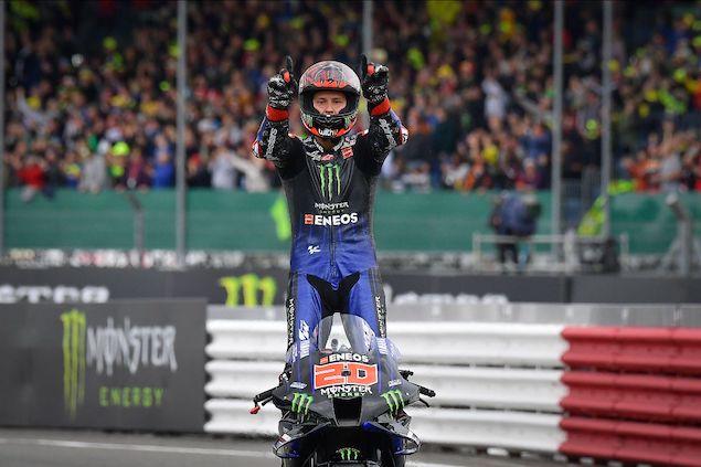 MotoGP: Fabio Quartararo domina Silverstone - FASTmag