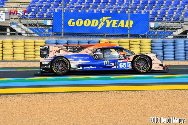"""El ORECA No. 65 de Panis Racing de Julian Canal, Will Stevens y James Allen en el Día de Pruebas de las """"24 Horas de Le Mans"""" 2021 (FOTO: Benoit Maroye para FASTMag)"""