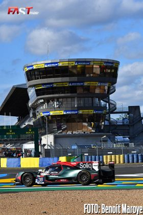 """El ORECA No. 38 de JOTA Sport de ROBERTO GONZÁLEZ y Anthony Davidson en el Día de Pruebas de las """"24 Horas de Le Mans"""" 2021 (FOTO: Benoit Maroye para FASTMag)"""